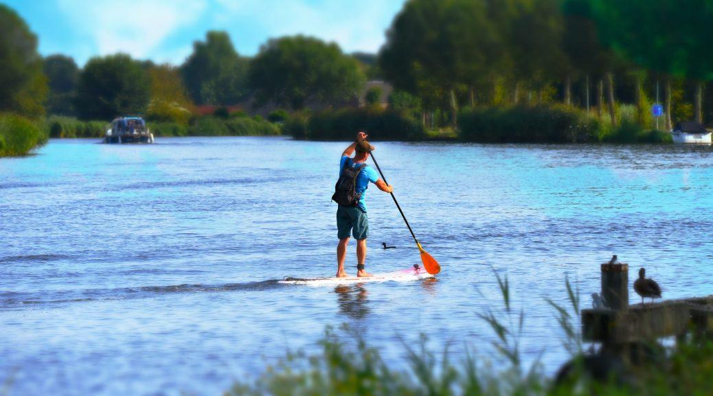 Paddle et réglementation de navigation