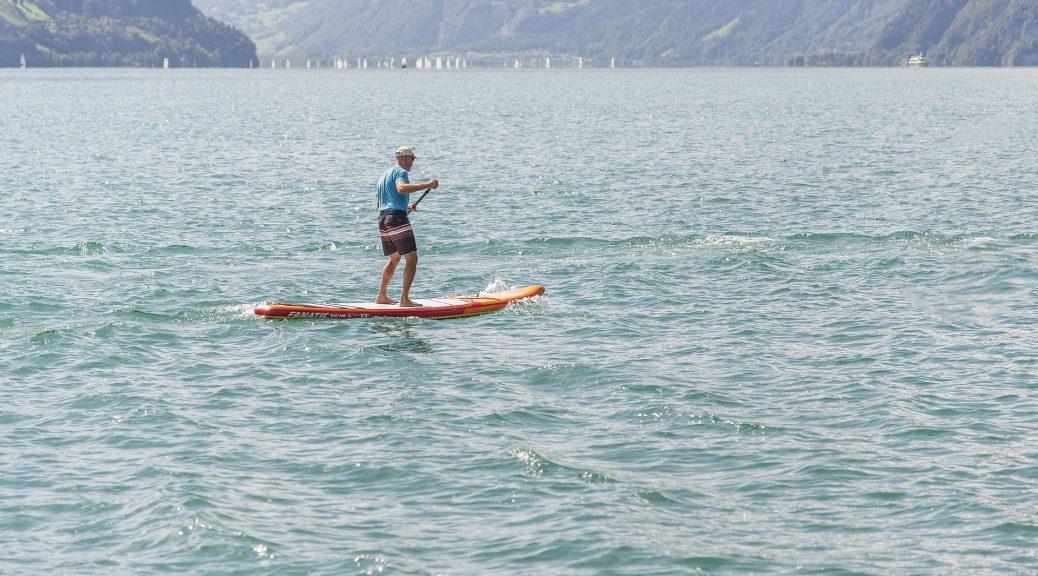 Ramer et pagayer en paddle